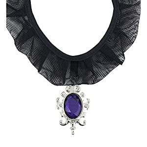 WIDMANN?Collar gótico con colgante Gemma Womens, morado, talla única, vd-wdm7131g