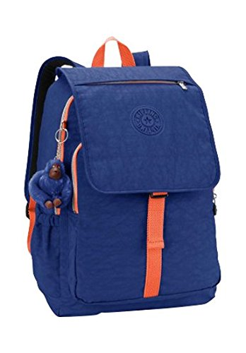 Kipling - HARUKO - Grand sac à dos - Jungle Dot Play - (Multi-couleur) Star Blue C