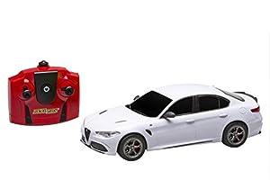 Reel Toys Reeltoys2169 Alfa Romeo Giulia Quadrifoglio, Escala 1:24, Modelo de Coche