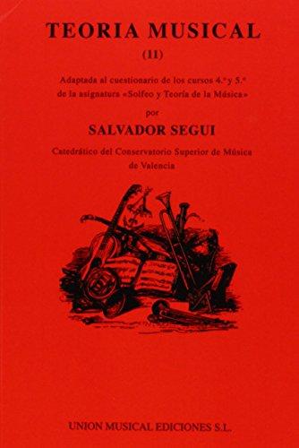 Segui: Teoria Musical Vol. 2 par Salvador Segui