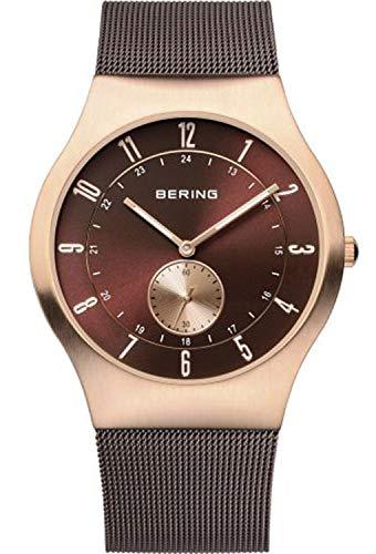 Bering tiempo 11940–265Reloj de Classic de hombre con correa de acero inoxidable y Scratch Resistent cristal de zafiro. Diseñado en Dinamarca