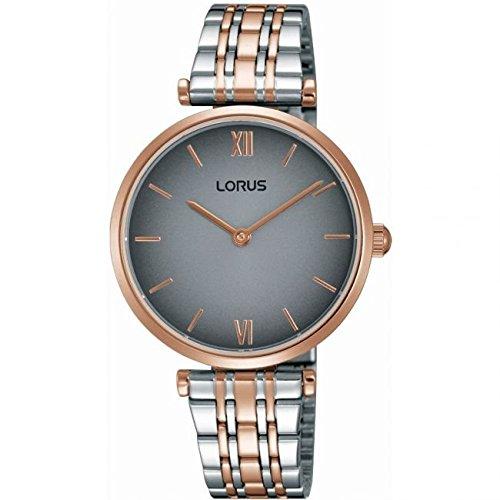 Lorus Ladies RRW90EX9 Two Tone Rose Gold Watch