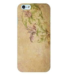Citydreamz Floral Print Hard Polycarbonate Designer Back Case Cover For Apple Iphone 4/4S