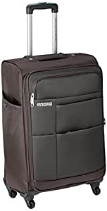 American Tourister Speed Polyester 66Cms Brown Soft Sided Suitcase (88X (0) 03 002)