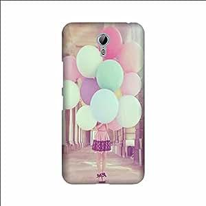 Yashas High Quality Designer Printed Case & Cover for Lenovo Zuk Z1 (Girl With Balloon)
