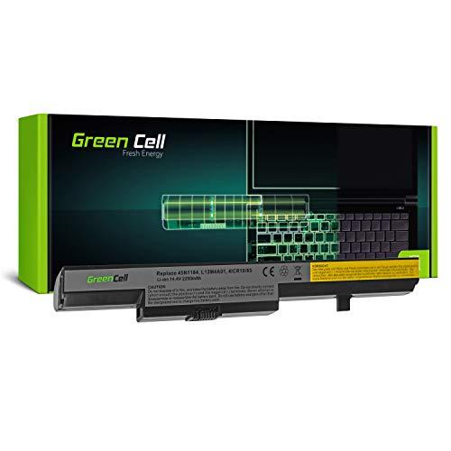 Green Cell® L13L4A01 L13M4A01 L13S4A01 Laptop Akku für Lenovo B50 B50-30 B50-45 B50-70 B50-80 E40 E50 E51 (4 Zellen 2200mAh 14.4V Schwarz)