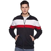 AWG Men's Premium Multicolour Sweatshirt with Zip