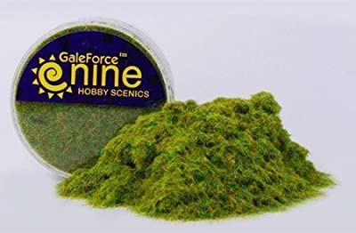 Gale Force 9 - Hobby Round: Green Static Grass - FWGFS001