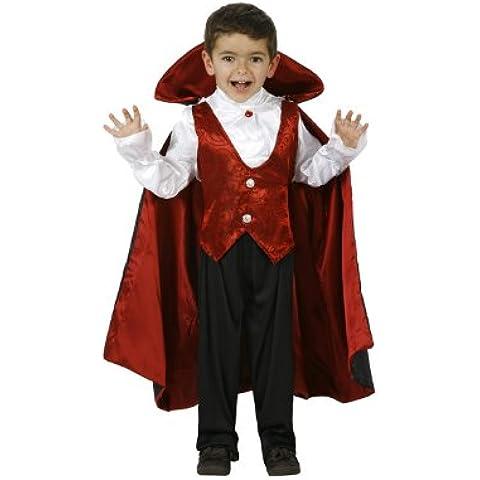 Atosa - Disfraz de Drácula para niño, talla 5 - 6 años (8422259952824)