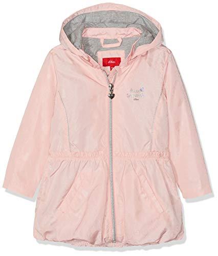 s.Oliver Baby-Mädchen 59.902.52.7063 Mantel, Rosa (Rose AOP 41a0), Herstellergröße: 68 (Mantel Rosa Mädchen)