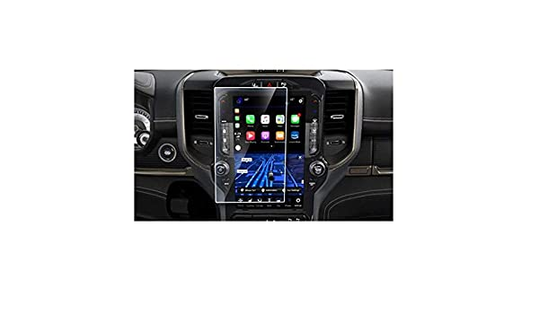 Dodge Ram Navigation Accessories ZFM Screen Protector Compatible with 2019 Dodge Ram,1500 2500 3500 Uconnect 12 Inch Touch Screen,Anti Glare Scratch,Shock-Resistant