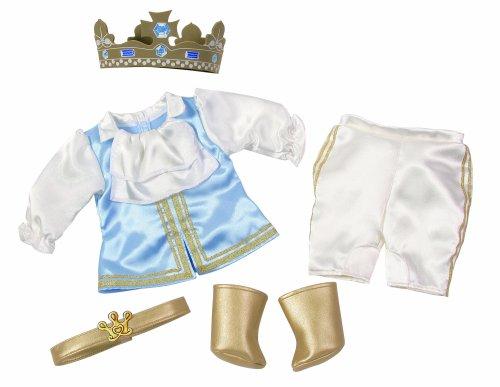 Zapf Creation 804995 - Baby Born Prinzen-Set (Baby Prinz Outfit)