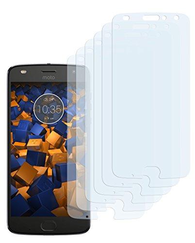 mumbi Schutzfolie kompatibel mit Lenovo Moto Z2 Play Folie klar, Displayschutzfolie (6X)