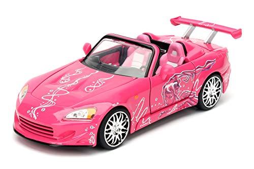 Jada Toys-97604pi-Honda S2000-Fast and Furious-Maßstab 1/24-rosa