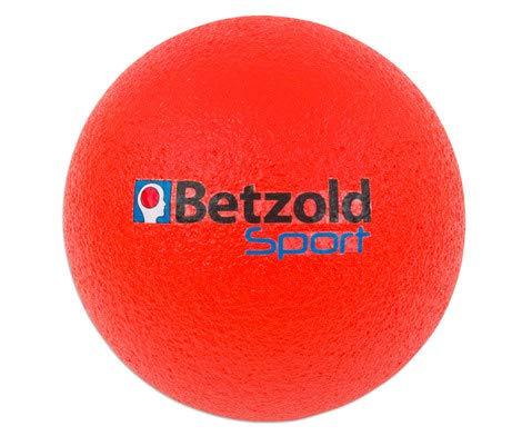 Betzold Softball rot - Kinder-Softball, Soft-Bälle, Kinder-Ball Schaumstoff, Schaumstoffball weich leicht
