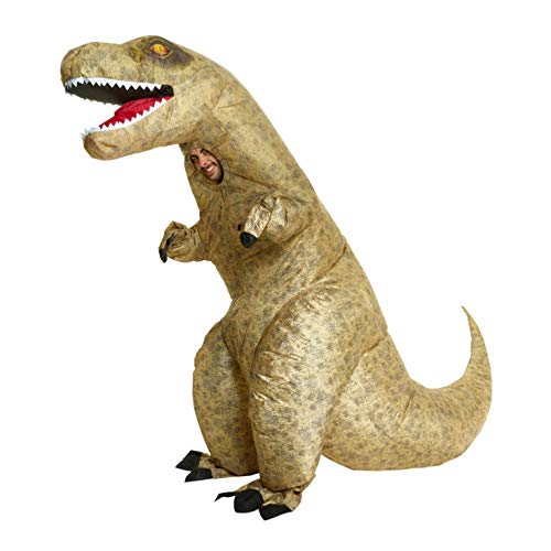 Morph MCUID Riesen Aufblasbares Kostüm, T-Rex, One (Lebensgroße T Rex Kostüm)