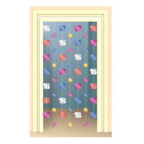 Edad 18 cortina de puerta