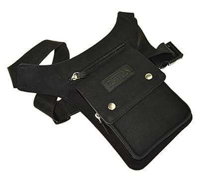 Sac banane Flevado Sidebag - Noir - Sans caractères - Environ 28 cm.