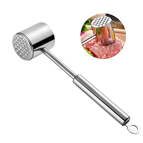 Ballery Meat Tenderiser Hammer Professional Meat Hammer Dual Sided Long Handle Kitchen Cooking Tool For Beef Steak Chicken Fish Pork Veal Buy Online In Aruba At Aruba Desertcart Com Productid 67361376