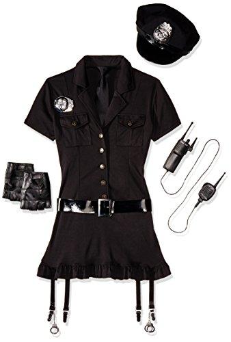 Leg Avenue 83344 - Böser Cop Kostüm, Größe M/L, (Mode Kostüme Polizei Sexy)