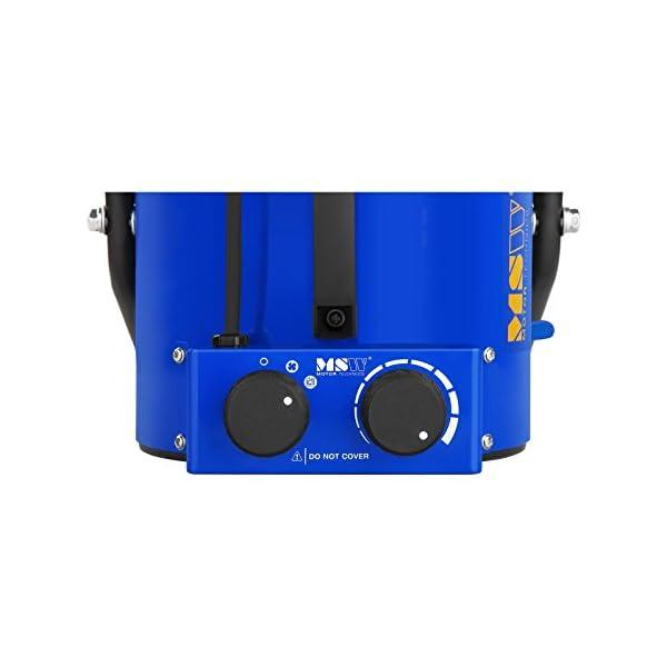2.000 W, Rango de temperatura 0/–85 /°C, Flujo de aire 185 m/³//h MSW Generador De Aire Caliente El/éctrico MSW-TTEH-2000