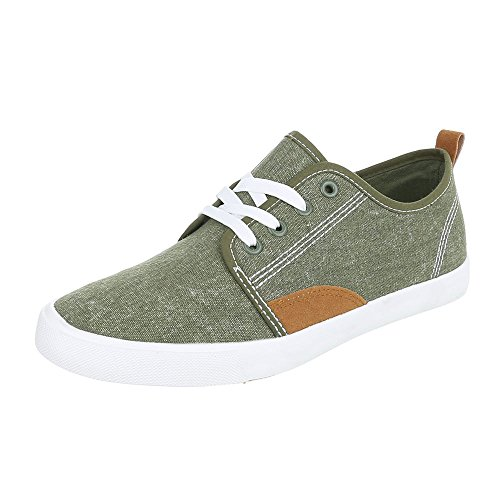 Scarpe Da Ginnastica Stringate Basse Stringate Con Allacciatura Ital-design Sneaker Verde