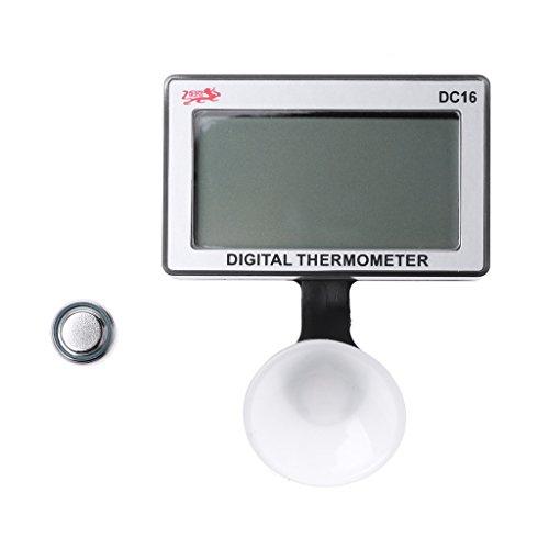 Dabixx Mini Thermometer Alarm Digital Tauch Aquarium Aquarium LCD-Tool