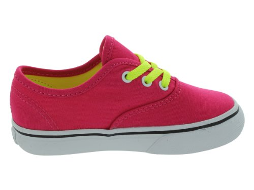 Vans Authentic Pop Lace Virtual Rosa Toddlers Trainers Virtual Rosa
