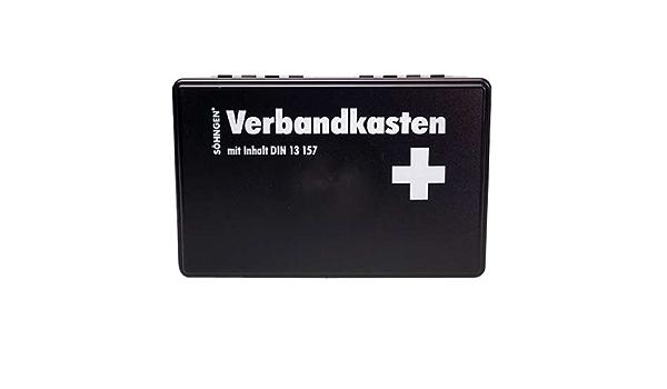 Söhngen Kiel Ku Verbandskasten Mit Füllung Schwarz Koffer Aus Abs Kunststoff 260x160x80 Mm 3003003 Spielzeug