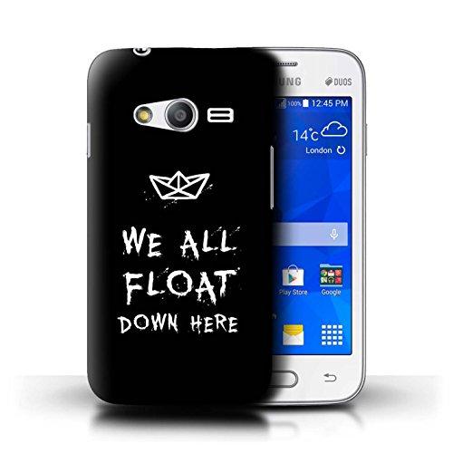 Stuff4® Hülle/Case für Samsung Galaxy Ace 4 Neo/G318 / Wir Alle Schwimmen Hier Runter Muster/Horrorfilm Inspiriert Kollektion