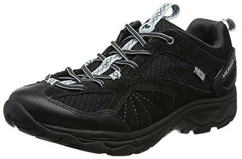 Merrell Avian Light 2 Vent Waterproof, Chaussures de Randonnée Basses Femme, Noir (Black), 39 EU