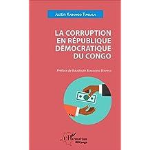 La corruption en République démocratique du Congo