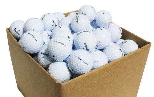 Second Chance Srixon 100 Balles de golf Récupération Qualité supérieure Grade B