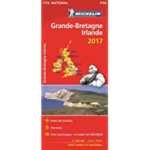 Carte Nationale 713 Grande Bretagne - Irlande 2017