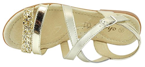 Chetto  17020, Sandales pour fille Or