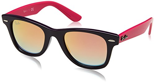 Ray-Ban Rayban Unisex-Kinder Sonnenbrille Rj9066s 7021b9 47 Mm Violet/Greengrad.Brownmirrorpink 47