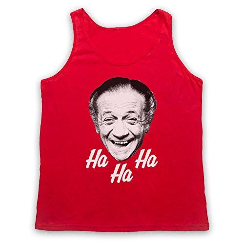 Sid James Ha Ha Ha Laugh Tank-Top Weste Rot