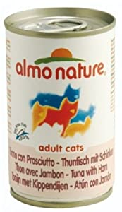 Almo Nature Cat Adult Tuna & Ham 140G X 48 by Monster Pet Supplies