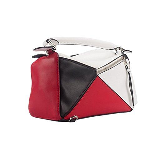 Frauen-Art- Und Weisemetallabend-Handtaschen-geometrische Kupplungs-Geldbeutel-Beutel B