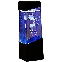 lyff medusas Lámpara de noche, escritorio Art Deco, efecto de luz para acuario acuario