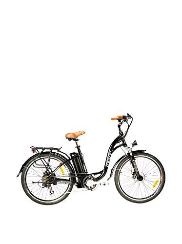 MOMA BIKES Fahrrad E-Bike Schwarz One Size Preisvergleich