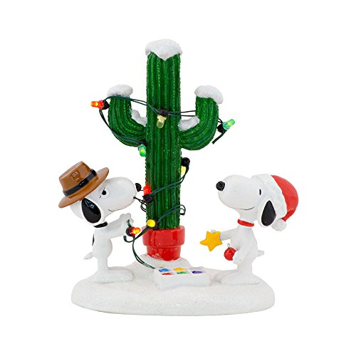 Department 56 Peanuts Village Spike und Snoopy 's Christmas (Peanuts Christmas Village)