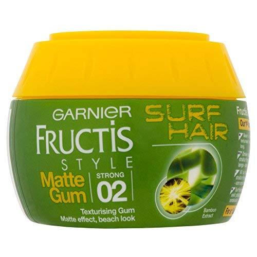 6 x Garnier Fructis Style Surf Hair Matte Texturising Gum 2 Strong 150ml - Haar-gel Garnier