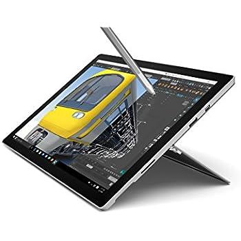 """[Ancien Modèle] Microsoft Surface Pro 4 Ecran tactile 12,3"""" (Intel Core M3 6ème génération, 4 Go de RAM, SSD 128 Go, Windows 10 Pro) + Stylet surface inclus"""
