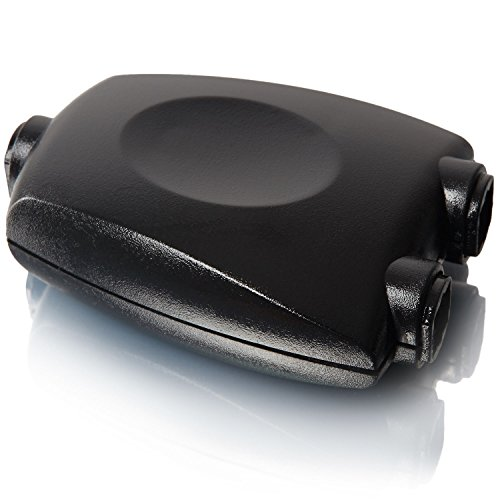Toslink Splitter | 1 zu 2 | Digital Audio Adapter | Anschluss Spiegelung | Sound Adapter | Anschluss von bspw. Playstation an mehrere Musikanlagen etc. - MOVOJA