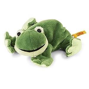 Steiff 281235 - Cappy Rana - Mentira, Felpa, 16 cm, Color Verde