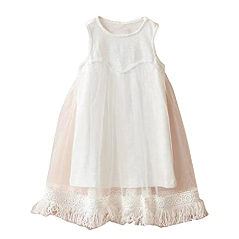 Amlaiworld Vêtements enfants Bébé filles glands parti Princess Tutu sans
