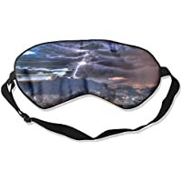 City Light And Lightning Mountain Sleep Eyes Masks - Comfortable Sleeping Mask Eye Cover For Travelling Night... preisvergleich bei billige-tabletten.eu