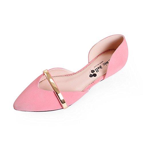 Asakuchi pointes chaussures de mode talons bas quartiers/Chaussures femme/Chaussures printemps A