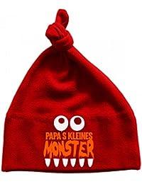 Mikalino Baby Mütze Papas kleines Monster